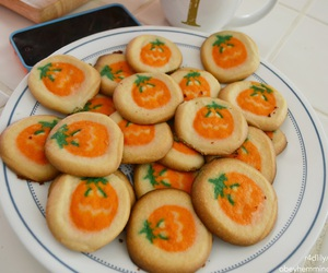 pumpkin, autumn, and Cookies image