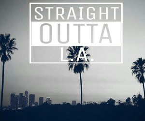 blackwhite, california, and l.a. image