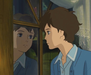 anime, window, and omoide no marnie image