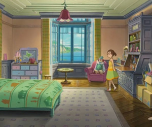 anime, anna, and bedroom image