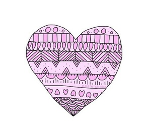 overlay, heart, and cute image