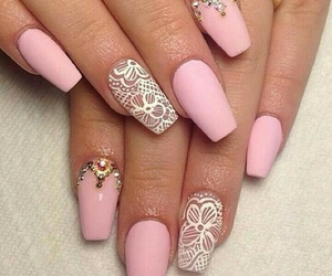 details, nails, and pink image