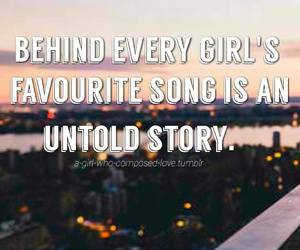 girls, quotes, and songs image