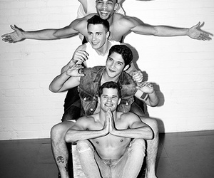 colton haynes, tyler posey, and carver image