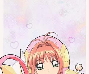 anime, sakura card captor, and sakura kinomoto image