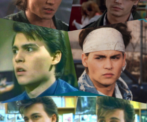 80s, johnny depp, and tv series image