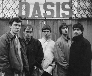 oasis, band, and liam gallagher image