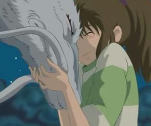 chihiro, girl, and spirited away image