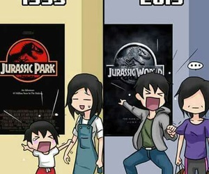 funny and Jurassic Park image