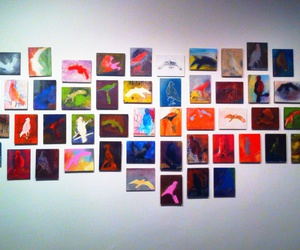 birds, canvas, and museum image