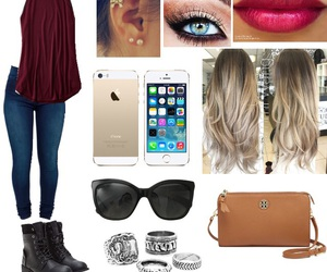 piercing, Polyvore, and ootd image