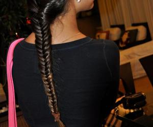 braid, Burberry, and fashion image