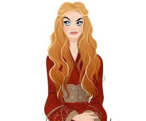 fanart, cersei, and lannister image
