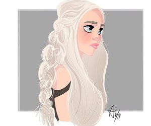 fanart, game of thrones got, and daenerys image
