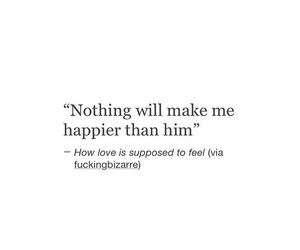 happy, love, and him image