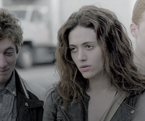 emmy rossum, ian gallagher, and phillip gallagher image