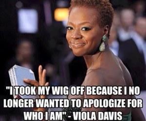 feminist, strong women, and viola davis image