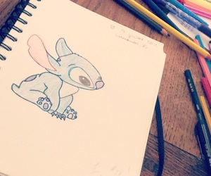 arts, liloandstitch, and colorful image