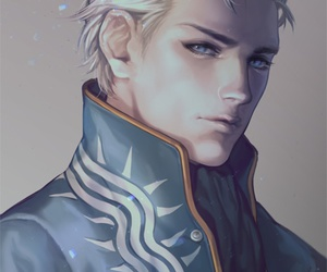 devil may cry, kenny, and blue eyes image