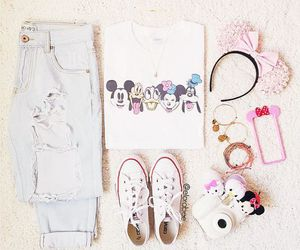 disney, cute, and outfit image
