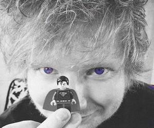 ed sheeran, superman, and lego image