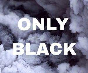 black, grunge, and only image