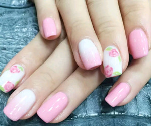 pink and white image