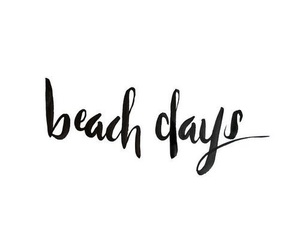 beach, summer, and quotes image