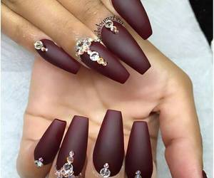 girls, nails, and cute image