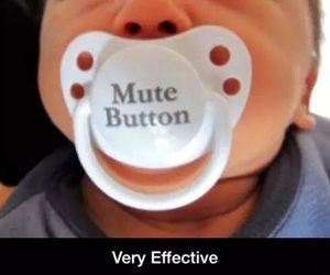 baby, funny, and mute image