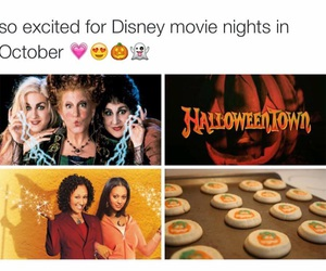 Halloween, disney, and movies image