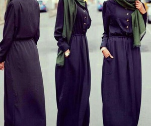 hijab, fashion, and mode image