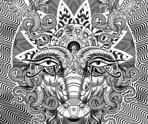 draw, lsd, and paint image