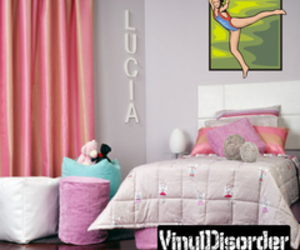 vinyl wall decals, reusable decals, and full color decal image