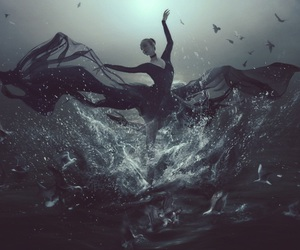 dance, dark, and fantasy image