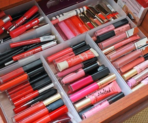 lipstick, makeup, and collection image