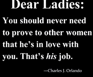 love, lady, and quote image