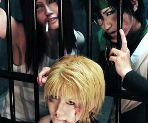 cosplay, sanzo genjou, and hakkai cho image