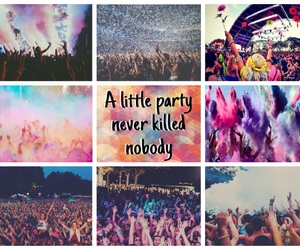 colourful, summer, and party image