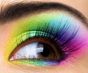 color, eye, and eyes image