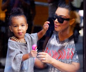 fashion, kim kardashian, and kourtney kardashian image