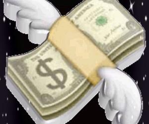 cash, glitter, and money image