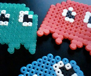 colourful, colours, and pacman image