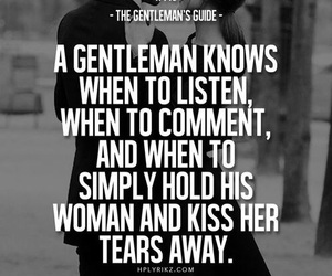 quotes, gentleman, and kiss image