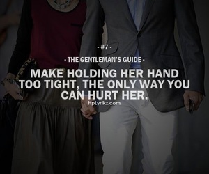 quote, gentleman, and couple image