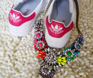adidas, luxury, and smile image
