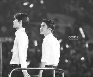 exo, kai, and kyungsoo image