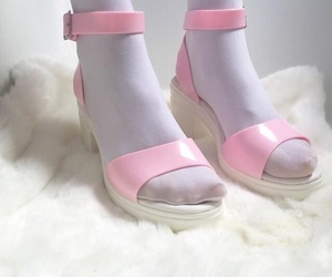 shoes, pale, and pink image