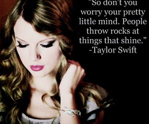 Taylor Swift, shine, and quote image
