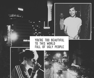 louis tomlinson and lookscreen image